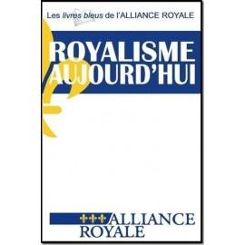 Le livre bleu de l'Alliance royale
